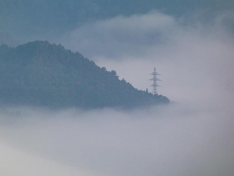 吉和展望台の雲海(広島県廿日市市吉和)