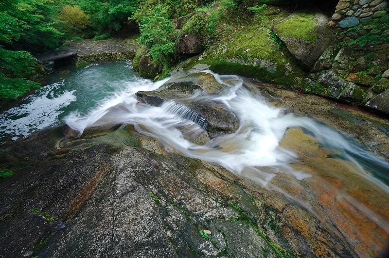 三郎の滝の手前にある一郎の滝